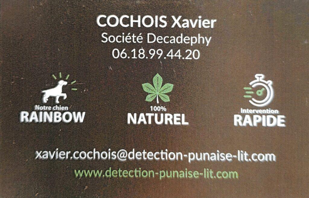 """Détection punaises de lit """"Decadephy"""""""
