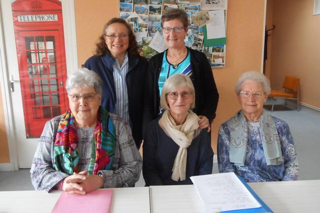 Composition du bureau du Comité d'Entraide aux Anciens