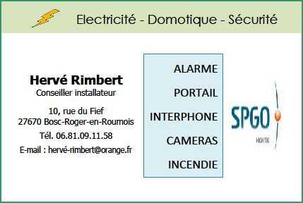 Electricité - Domotique - Sécurité